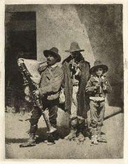 Músicos de rúa , Calabria, 1880 -1890